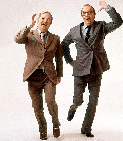 Eric Morecambe and Ernie Wise were my favourite comedians when I was growing up! Always remember the classic sketches and musical numbers!
