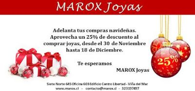 Marox Joyas:  DESCUENTO POR NAVIDADDESDE EL LUNES 30 DE NOVIEMB...