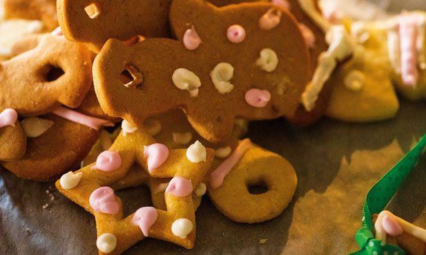 Estas bolachas de chocolate são perfeitas para tornar o seu Natal ainda mais doce. As crianças vão adorar pôr as mãos na massa e decorar estas delícias.