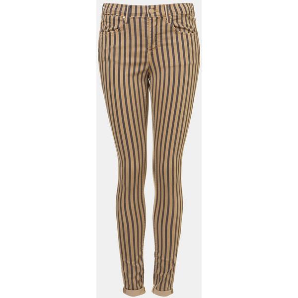 Topshop Moto 'Leigh' Stripe Skinny Jeans (Navy) ($88) ❤ liked on PolyvoreMoto Leigh, Stripes Skinny, Skinny Jeans, Navy Stripes, Jeans 80, Stripes Leigh, Moto Navy, Topshop Moto, Leigh Jeans