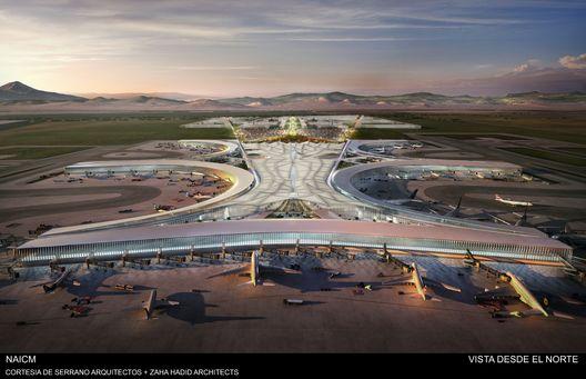 Serrano Arquitectos + Zaha Hadid Architects presentan su propuesta del Nuevo Aeropuerto Internacional de la Ciudad de México