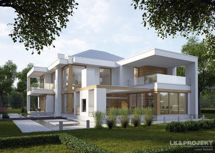 Projekty domów LK&Projekt LK&1231 wizualizacja 11