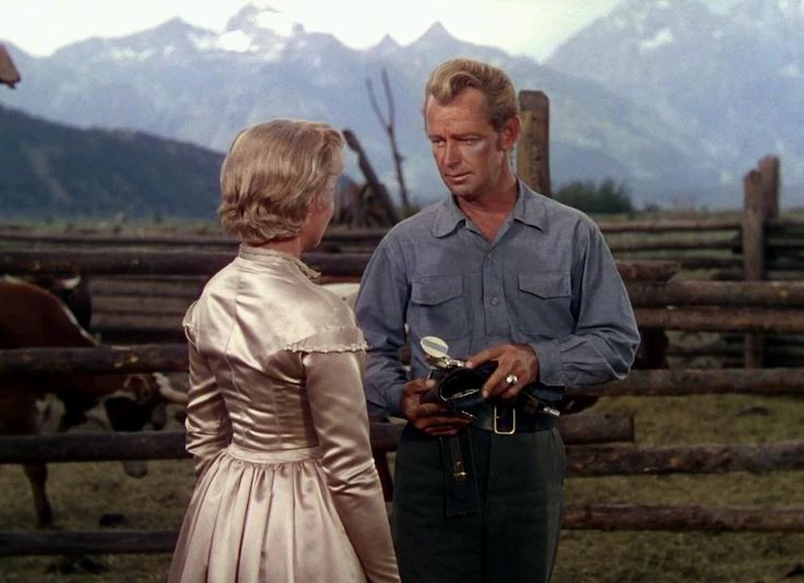 SHANE (1953) The film stars Alan Ladd, Jean Arthur (in the last feature, and only color, film of her career) and Van Heflin.  SHANE was listed No. 45 in the 2007 edition of AFI's 100 Years…100 Movies