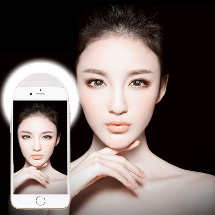 Universal Luxury Selfie Unobstructed Luminous Phone Ring LED Flash Light for iphone Android Smart Phones/Tablets FW1S – Shop Now! – WorldOfTablet.com