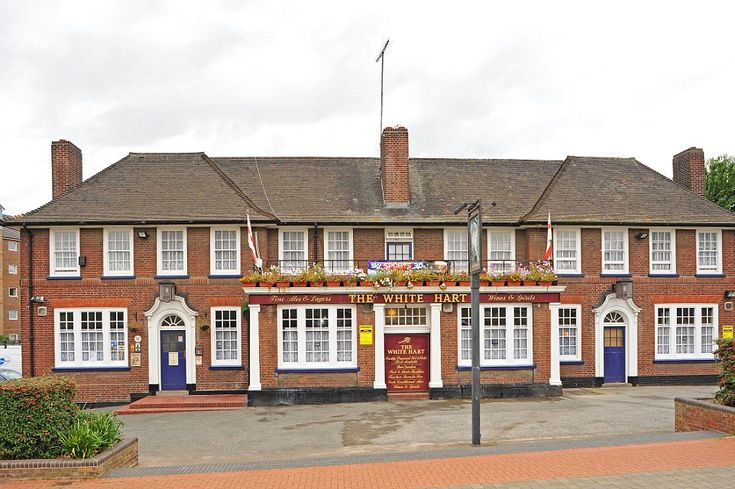 The White Hart, Grays, Essex: Built in 1938 by Charringtons brewery- one of the most proli...