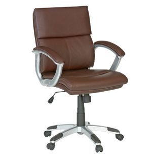 Buy rochester mid back office chair brown at your online shop for office chairs Argos home office furniture uk