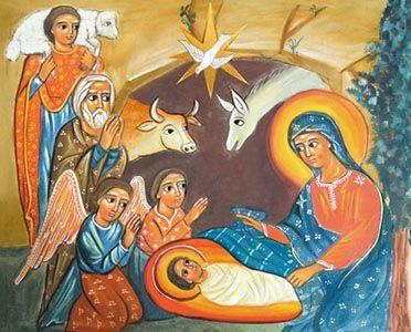 NATIVITE-des-Petites-Soeurs-de-Bethleem - « Hymne de Noël » de l'Abbé Raban Maure pour Noël - Voici l'Hymne de Noël « Jésus, qui es né de la Vierge, que la gloire Te soit rendue » du Moine Bénédictin Raban Maure (780-856), Abbé de l'Abbaye Bénédictine de Fulda en Allemagne et Archevêque de Mayence, Auteur probable du célèbre hymne « Veni Creator Spiritus », ainsi que la « Catéchèse de Benoît XVI sur l'Abbé Raban Maure ».