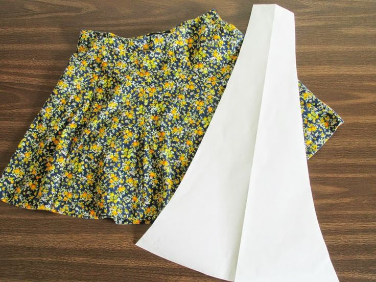 Flared Skirt - This looks pretty easy and can be customized for any size (even plus size!) & length