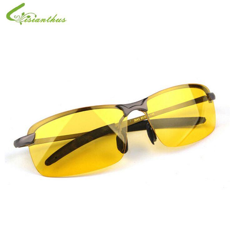 2017 New Arrival Men's Glasses Car Drivers Night Vision Goggles Anti-Glare Polarizer Sun glasses Polarized Driving Sunglasses