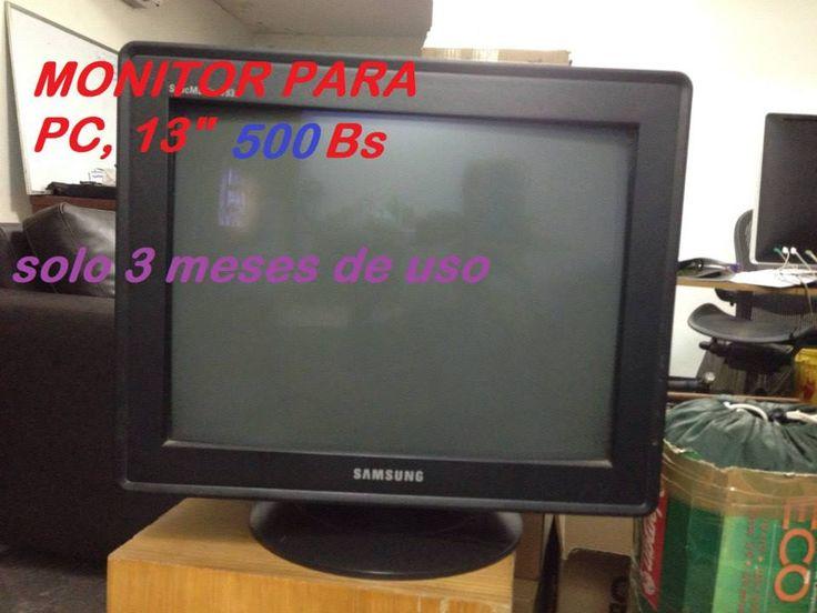monitor para PC. POR SOLO Bs 500