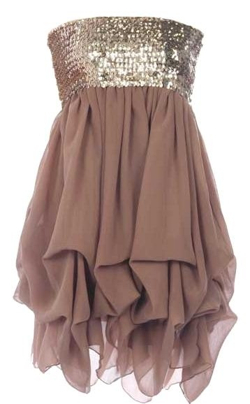 Iced Mocha Dress
