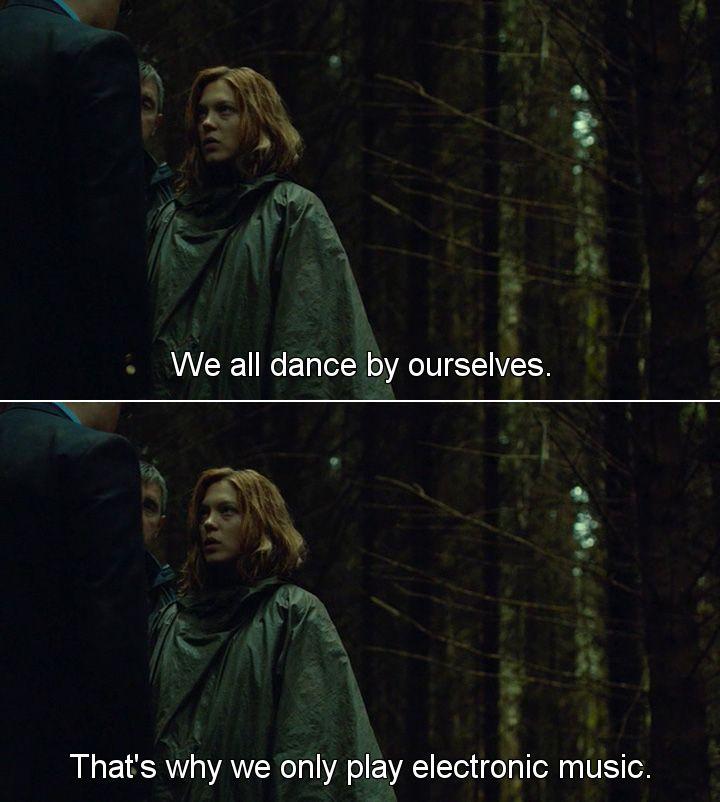 Z filmu ,,Lobster,, po polsku ,,Homar,,. Tańczymy sami ze sobą.