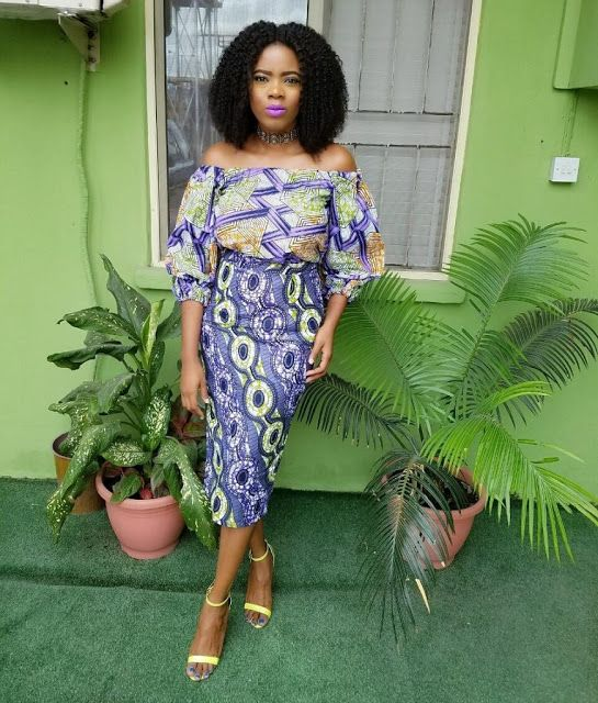 Check Out This Beautiful Ankara Styles Short Gown - DeZango Fashion Zone