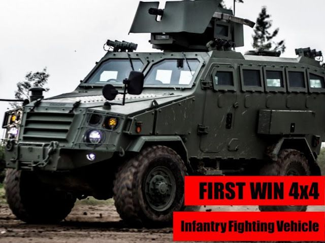 Military and Commercial Technology: First Win (AV4)/First Win II Multi-Purpose Wheeled Armoured Vehicle, Thailand