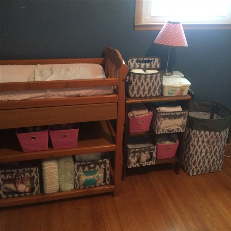 Organizing with Thirty-one your way cubes. #babiesroom