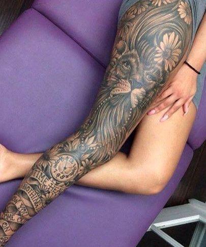 Wij verzamelden een aantalexemplaren van vrouwen met benen vol tatoeages. Wat vind jij: super mooi, of houd j...