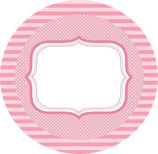 Kit en rosa para imprimir gratis. - Ideas y material gratis para fiestas y celebraciones Oh My Fiesta!
