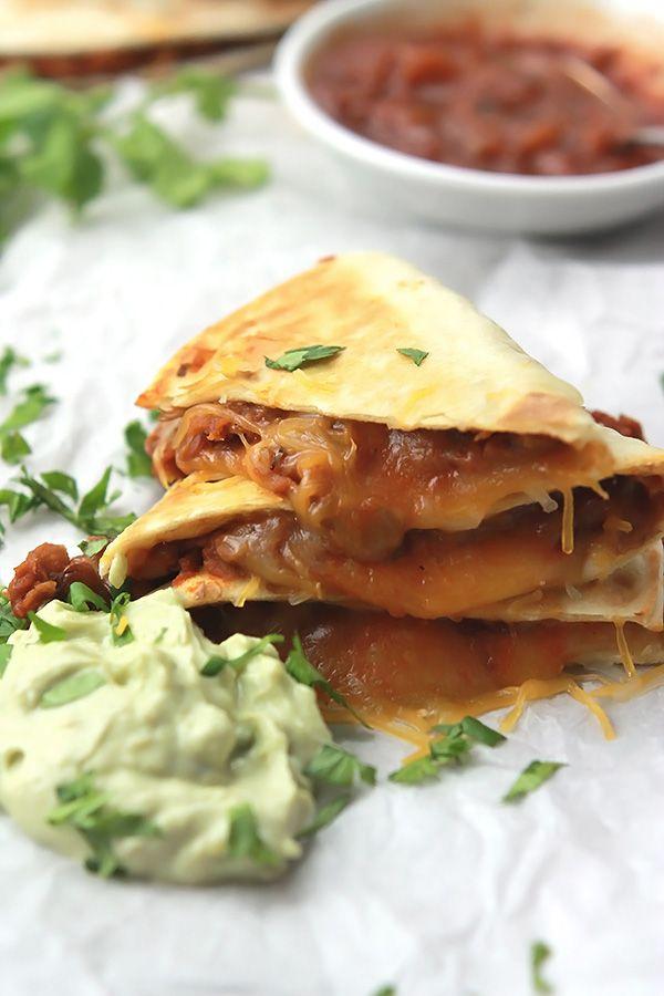 Chystáte bezmasá nebo jen chcete mít vynikající Bezmasá pondělí?  Jste na správném místě, tyto sýrový čočková Quesadillas jsou šílení chutné a syté.