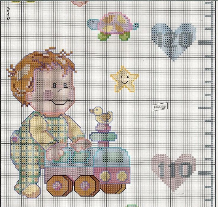 17 best images about punto croce metri crescita per for Punto croce bambini disney