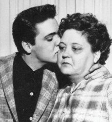 1958: On August 14th, Elvis Presley's beloved mother Gladys died at the age of 46. She is buried on August 16th, the date on which Elvis will die 19 years later.
