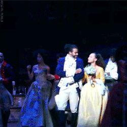gif gifs Broadway musical theatre Alexander Hamilton hamilton lin-manuel miranda okieriete onaodowan Hercules Mulligan phillipa soo jasmine cephas jones daveed diggs eliza hamilton