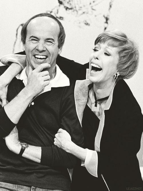 Tim Conway and Carol Burnett - these two were fabulous!!!