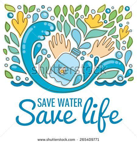 Save water - save life