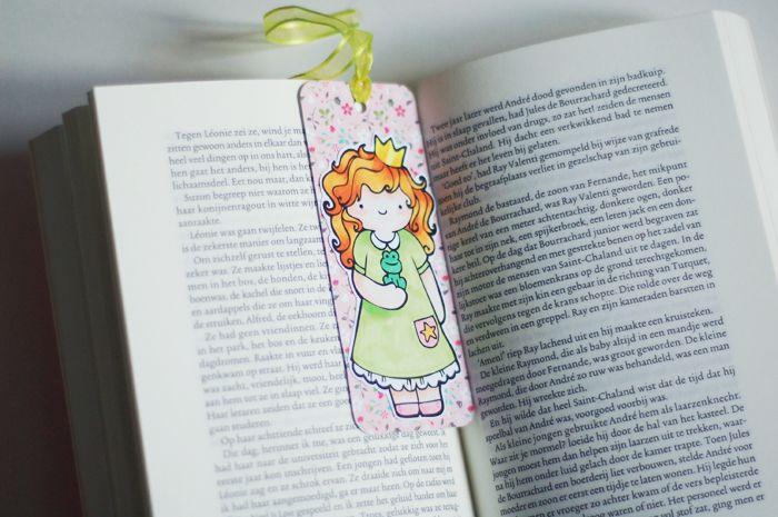 Bladwijzer - download prinsessentekening