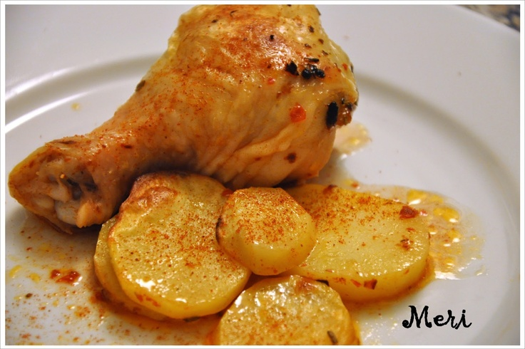 Meri'nin Mutfağı: FIRINDA TAVUK PATATES
