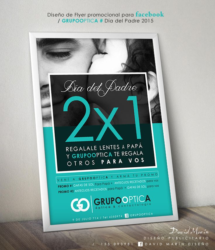 Diseño de Flyer Publicitario para Grupooptica