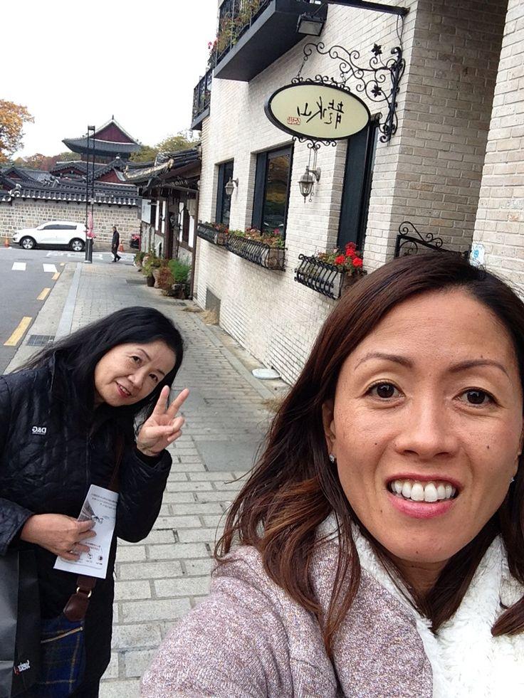 Having fun in Seoul: