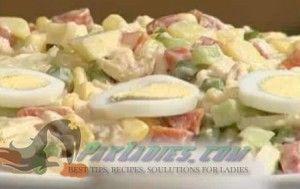 Russian Chicken Salad