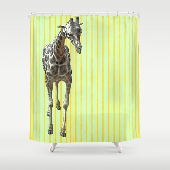 High de high Shower Curtain