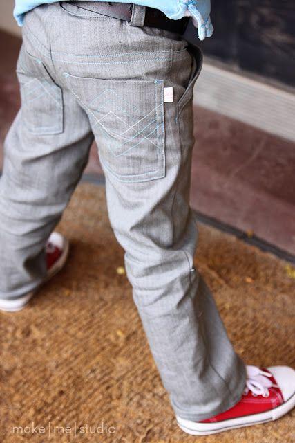make me studio: Funky Boy Jeans