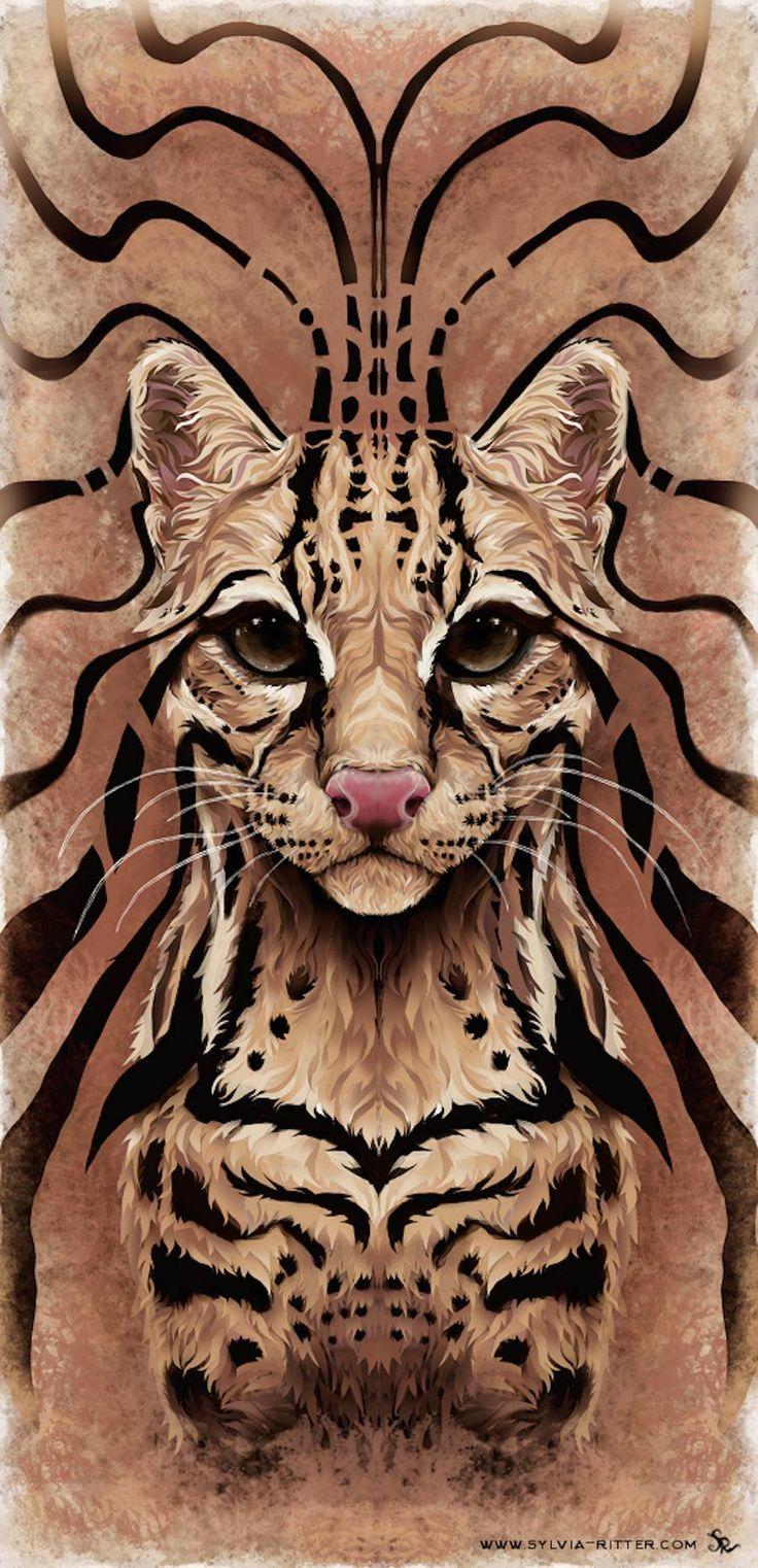 Colorful Digital Illustrations of Animals – Fubiz Media