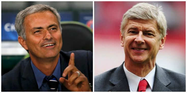 Who's sides are you?#wordofwar#mourinho#wenger#unbeatenteams#arsenal#chelsea#PL