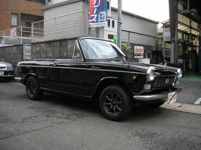 1966 daihatsu compagno spider