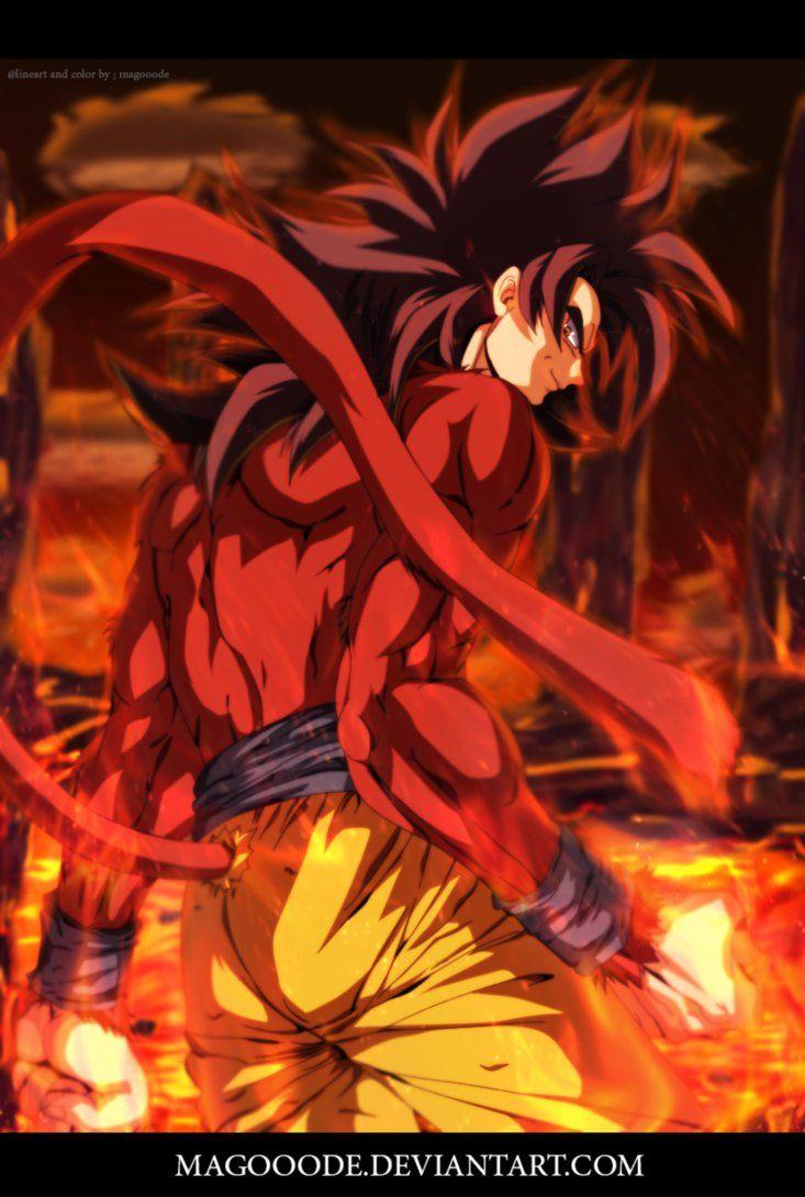 Ms de 25 ideas increbles sobre Goku fase 4 en Pinterest  Goku