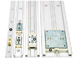 igus® drylin® N low profile linear guide system - Program overview