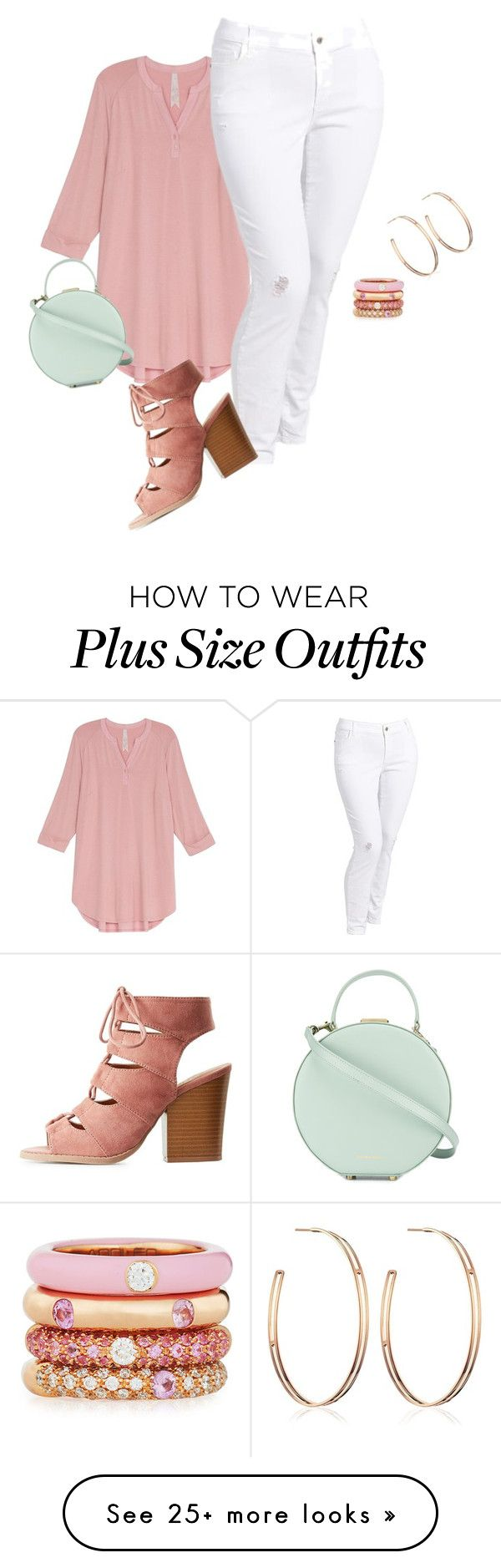 """Plus size, spring/summer vibes"" by xtrak on Polyvore featuring Melissa McCarthy Seven7, Old Navy, Charlotte Russe, Tammy & Benjamin, Vita Fede, Adolfo Courrier and plus size clothing"