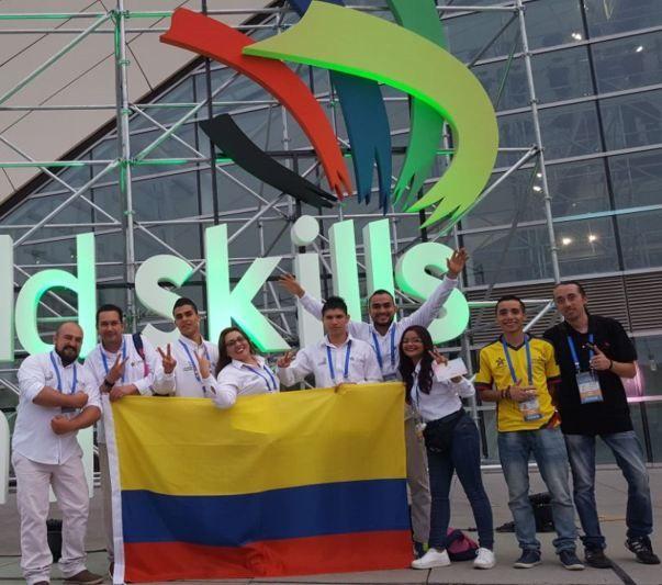 Medallas de oro y plata para el SENA Colombia en competencias internacionales de WorldSkills en China