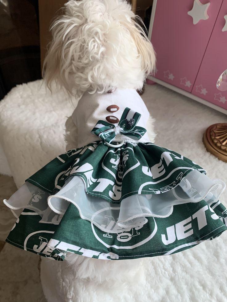 Jets Jets Jets (With images) Dog dresses, New york jets