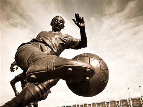 Sir Stanley Matthews Statue ,Britannia Stadium, Stoke