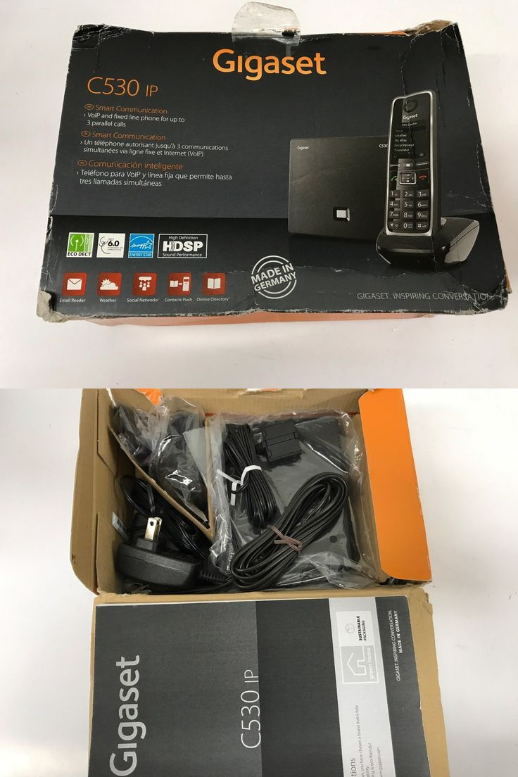 Cordless Telephones and Handsets: Gigaset Gigaset-C530ip Cordless Hybrid Expandable Phone For Ip Or Landline Calls -> BUY IT NOW ONLY: $49.98 on eBay!