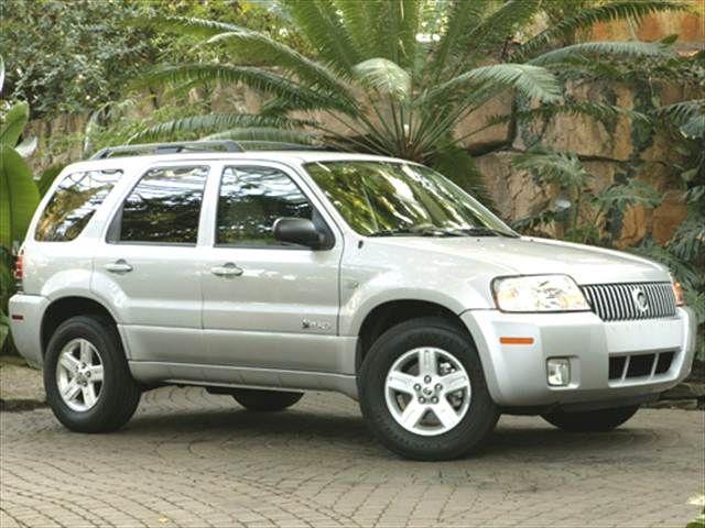 Most Fuel Efficient SUVs of 2006 - 2006 Mercury Mariner