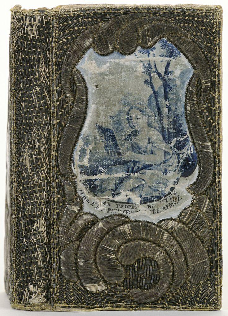 Band van textiel, geborduurd en beschilderd, 1779(?)