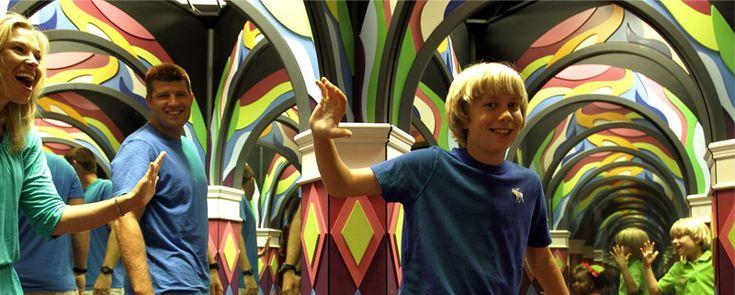 Backstage Mirror Maze The Vault Laser Maze Myrtle Beach