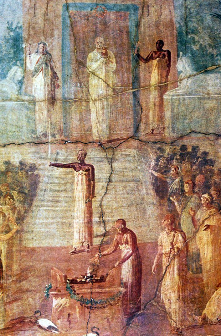 54 best images about Ancient Roman Painting on Pinterest
