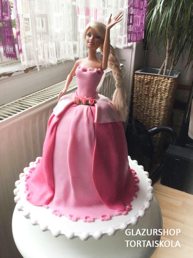 Barbie torta készítése, én ígycsinálom