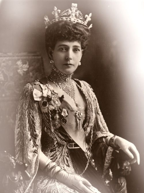Queen Alexandra of Denmark. Queen of Great Britain and Ireland, Empress of India.